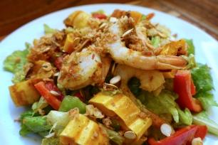 Shrimp and Delicata Squash